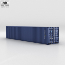 Shipping Container 40ft 3D Model
