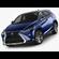 Lexus RX 450h 2016 3D Model