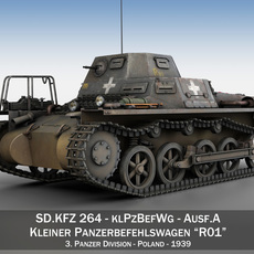 SD.KFZ 265 - klPzBefWg - Ausf. A - R01 3D Model