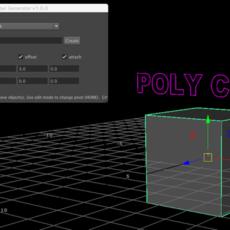 Label Generator for Maya 1.0.0 (maya script)