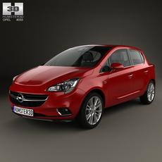 Opel Corsa (E) 5-door 2014 3D Model