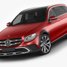 Mercedes E-class All-Terrain 2017 3D Model