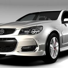 Holden Commodore SV6 Sportwagon VF Series II 2016 3D Model
