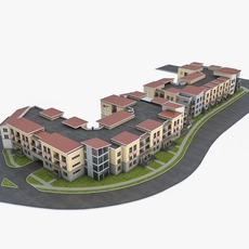 Residential Complex 3D Model