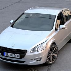 Peugeot 508 (2011) 3D Model