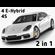 Porsche Panamera Hybrid and 4S 3D Model