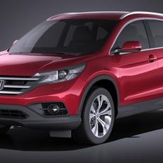 Honda CR-V 2015 VRAY 3D Model