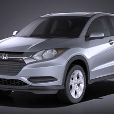Honda HR-V 2016 VRAY 3D Model