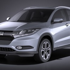 Honda HR-V EU 2016 VRAY 3D Model