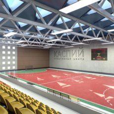 Gym Athletics Interior 3D Model