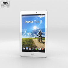 Acer Iconia Tab 8 3D Model