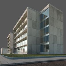 Office building - Tecnology Park headquarters 3D Model