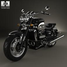 Triumph Rocket III Roadster 2013 3D Model