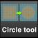 A circle tool for Maya 0.1.0 (maya script)
