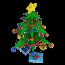 Stylized Xmas tree 3D Model