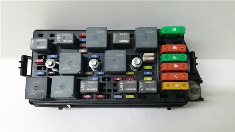 engine fuse box 02 03 saturn vue 2 2l r231181 ebay. Black Bedroom Furniture Sets. Home Design Ideas