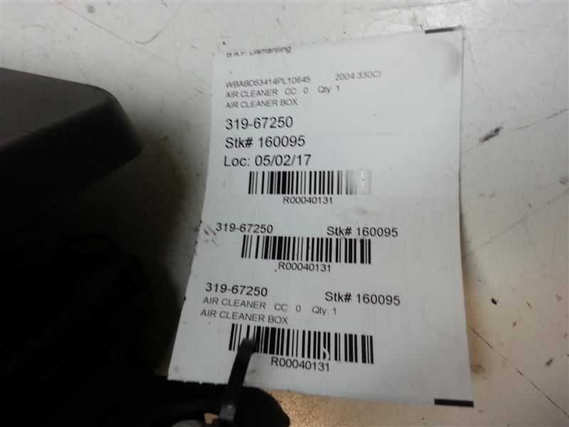 Used 2003 Bmw 330ci Air Intake Systems For Sale