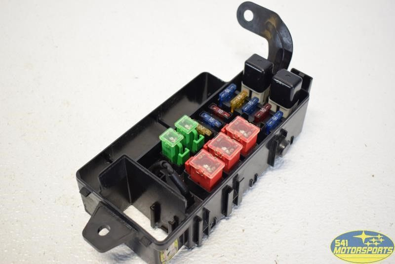 4 1991 subaru legacy engine fuse box underhood assembly ebay 1991 Subaru Legacy Engine at mifinder.co