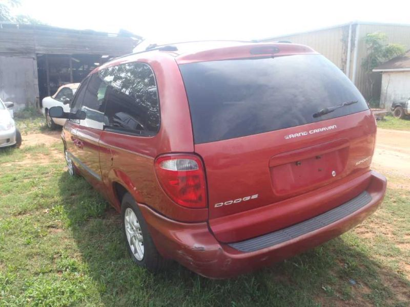 2003 03 Dodge Caravan Right Middle Row Seat Second Row