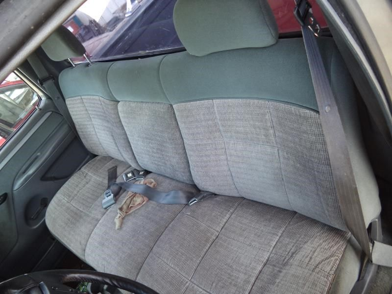 93 Ford F150 Grey Cloth Bench Front Seat 342863 Ebay