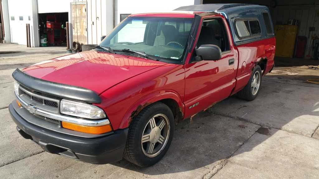 96 Chevy S10 manual Wheel offset