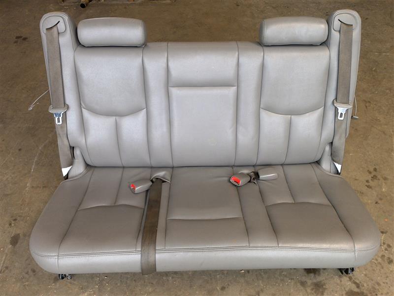 2003 2004 2005 2006 chevy suburban gmc yukon xl third row seat gray 377910. Black Bedroom Furniture Sets. Home Design Ideas