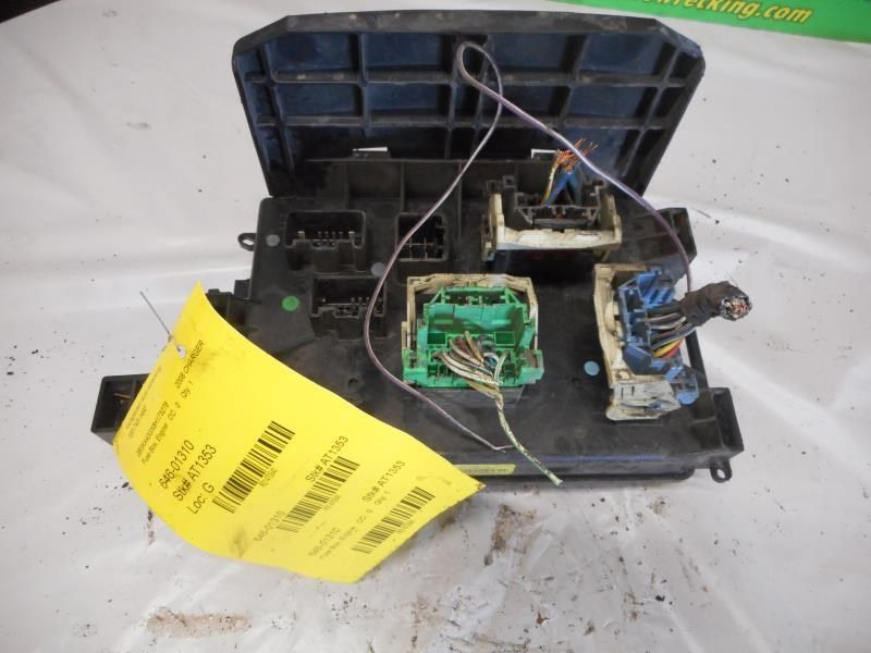 08 charger fuse box 08 pathfinder fuse box 08 dodge charger fuse box engine compartment   ebay