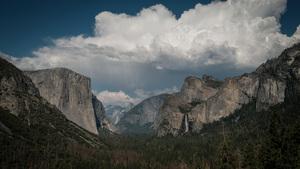 20,000 Humans Beneath The Trees, Yosemite Valley