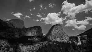 Nevada Falls, Liberty Cap, Yosemite