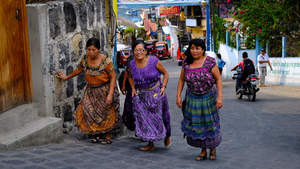 Locals, San Pedro, Guatemala