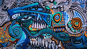 Mural, Chiapas, Mexico