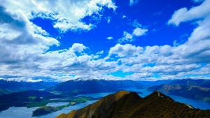 Above Roys Peak, Wanaka, NZ