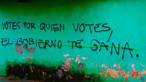 Vote, Chiapas, Mexico