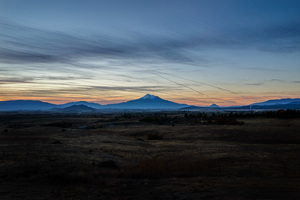 Highway 5 at 6 am, Oregon