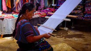 Weaver, San Marcos, Guatemala