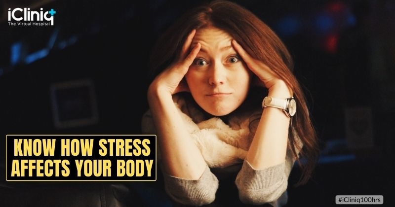 Know How Stress Affects Your Body – Health Tips