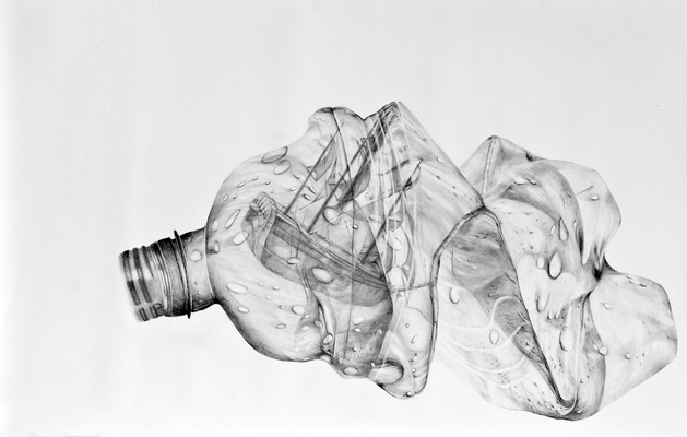 Alex Callender Drawing Graphite on Paper