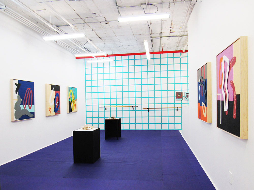 2017 Fad Bodies Installation View