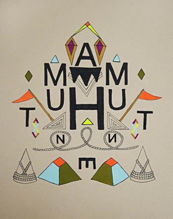 Archive Eye Chart 3 (Haunt Me)