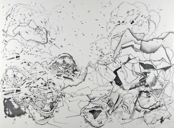 After the Disaster: Drawings Graphite pencil on paper