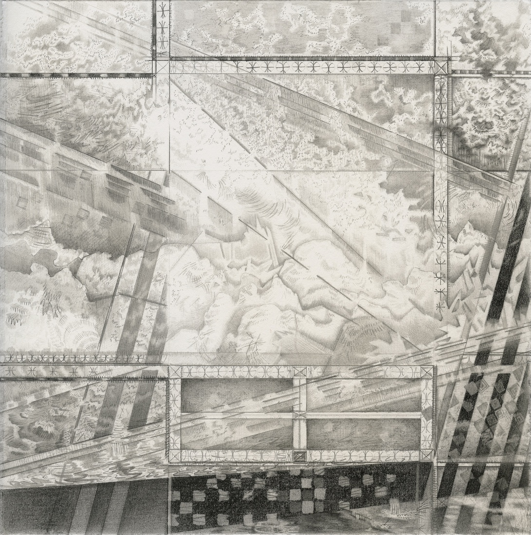 After the Disaster: Drawings Projected Landscape II