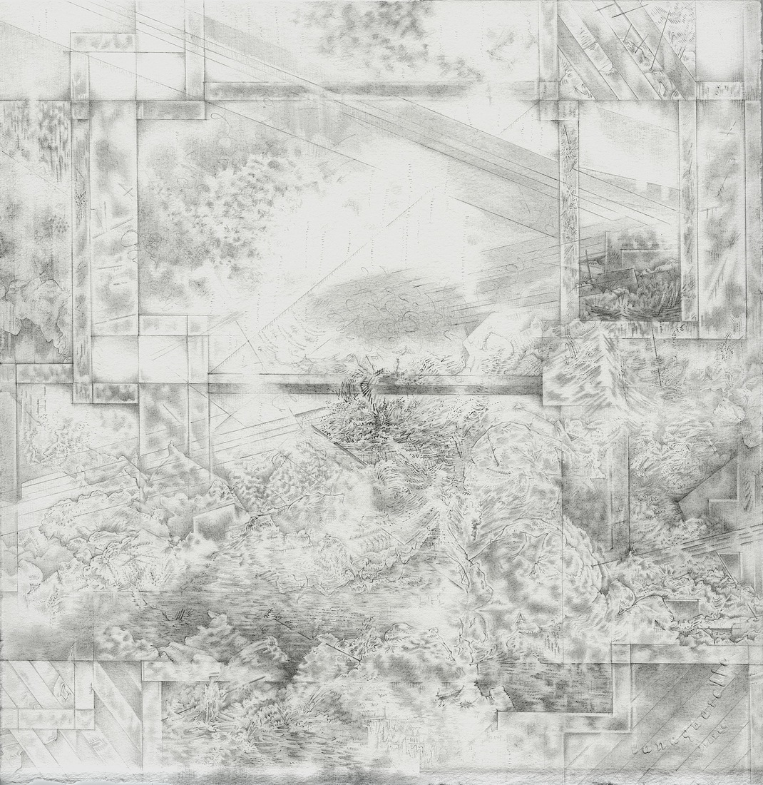 After the Disaster: Drawings Projected Landscape III