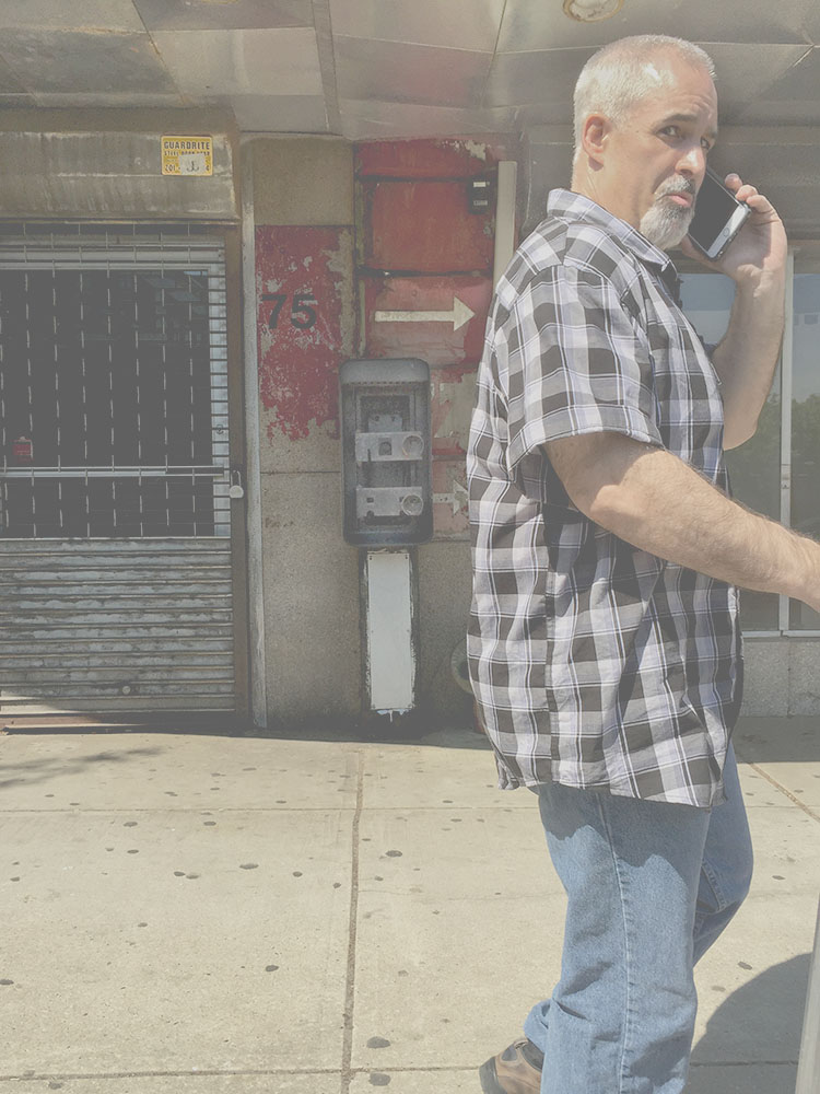 Dead Ringers: Portraits of abandoned payphones Checkered Man
