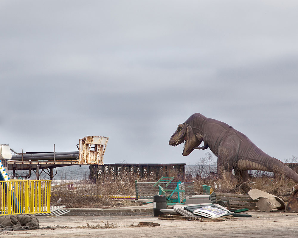 Seaside Heights: Before & After Seaside Dino