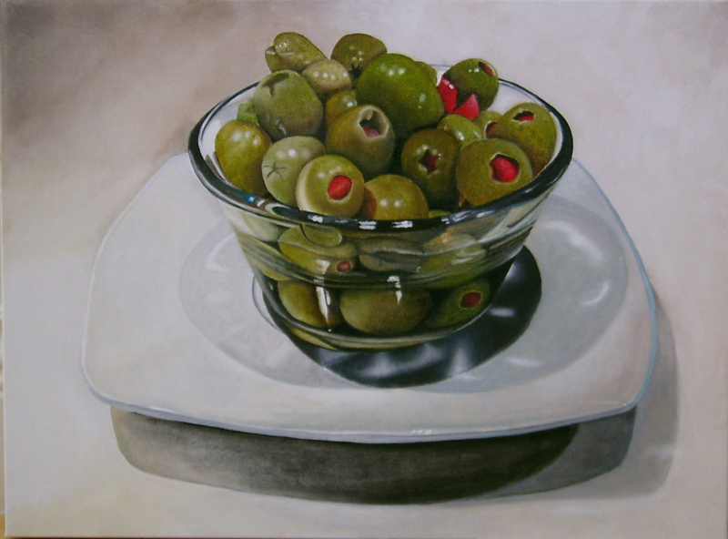 ANN GOLDBERG Dinner Party | 2007 Oil on canvas