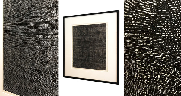 ARTicles Art Gallery David McKirdy woodcut on japanese paper