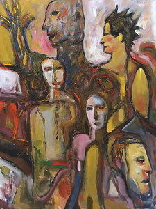ARTicles Art Gallery Jack Barrett oil on canvas