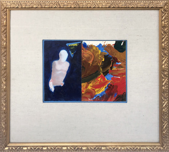 ARTicles Art Gallery Consignment oil on board (framed)
