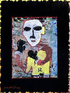 ARTicles Art Gallery Collectors Exchange artist print & paint on wood
