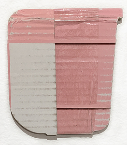 ARTicles Art Gallery Babette Herschberger  collage, found cardboard